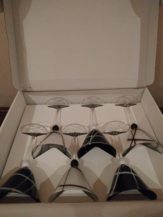 Copas de Champagne/Martini