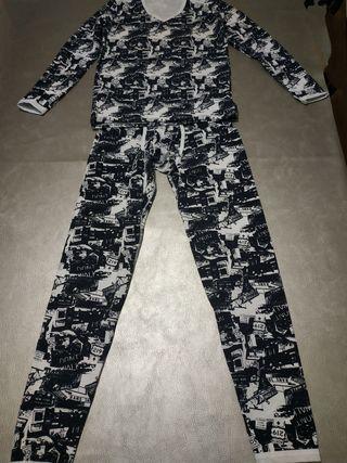 Calzoncillo/ Pijama largo y camiseta jockmail