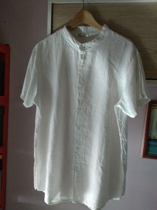 Camisa auténtico Lino Italiano talla XL