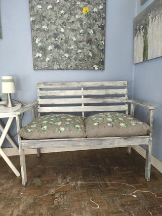 sillón madera exterior o interior