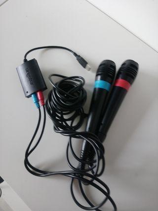Micrófonos SingStar