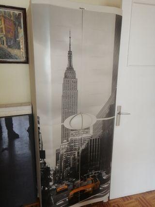 armario exterior resina serigrafiado NY