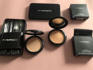 Brochas y maquillaje MAC