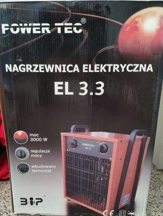 Estufa industrial ELECTRIC HEATER EL 3.3