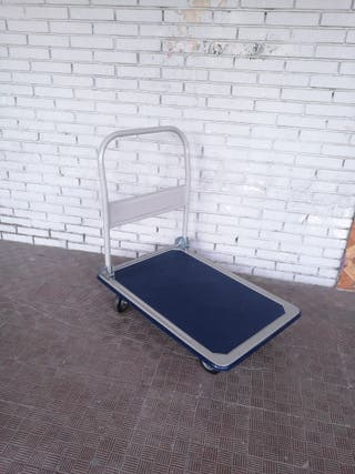 carretilla plataforma plegable