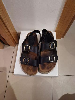 Zapato mujer piel talla 38/39