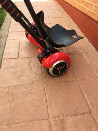 Hoverboard smartgyro y silla