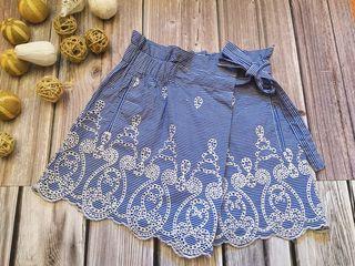 Falda pantalón de Zara cuadros vichy