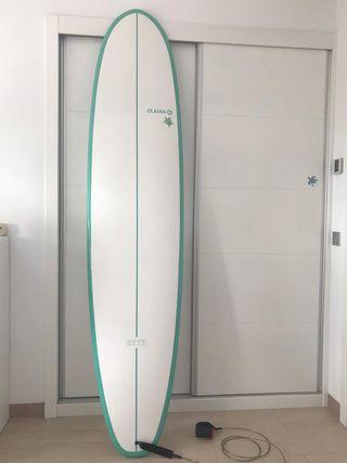 Tabla de surf Mini Malibu 8'2 y 63 litros.