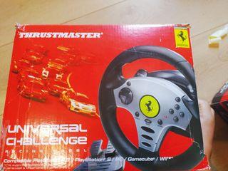 Volante de juegos Ferrari