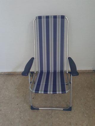 Silla camping Crespo reclinable AL-212