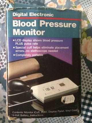 Tensiómetro digital de brazo