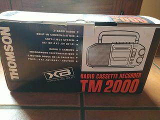 radio cassette recorder tm2000 THOMSON