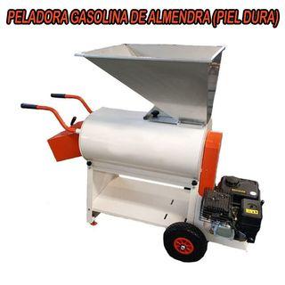PELADORA GASOLINA DE ALMENDRA PIEL DURA