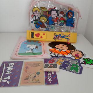 Neceser Mafalda Interior con Articulos Años 80