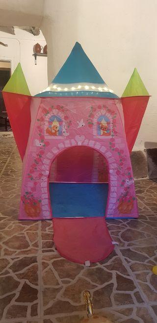 tienda castillo para niños