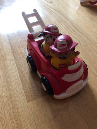 Coche de bomberos de juguete