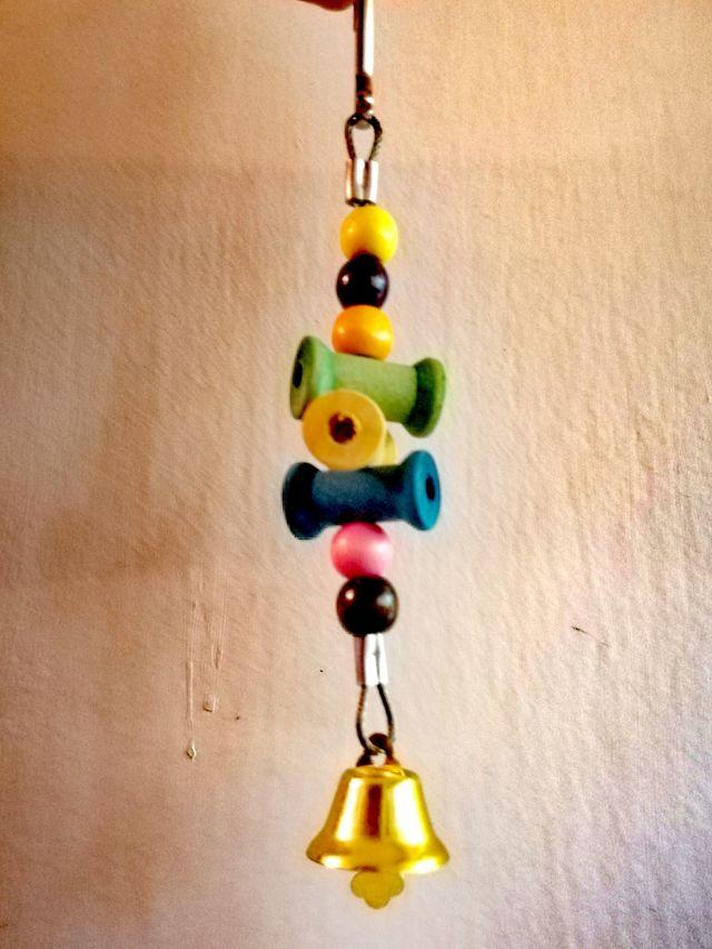 juguetes para pajaros