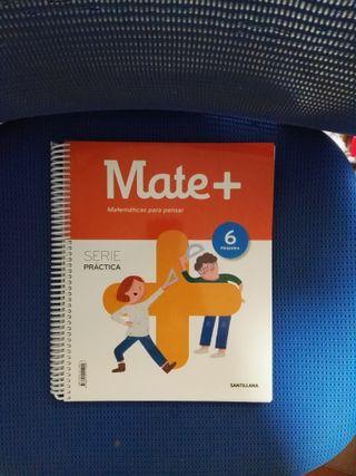 libro de Matemáticas 6º de primaria santillana