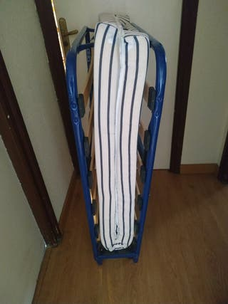 cama plegable Ikea modelo Sandvika