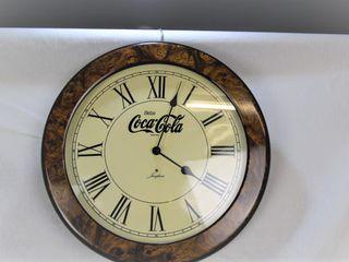 Reloj de pared Junghans de Coca Cola