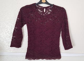 Bershka Lacy Top