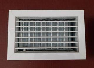 Rejillas de ventilación de aluminio