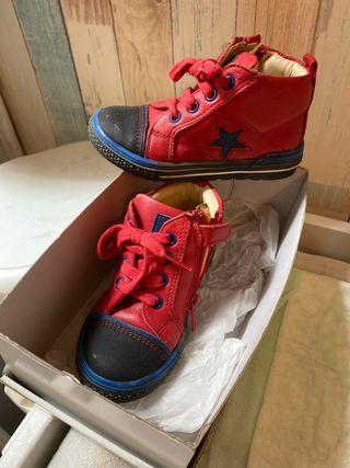 Zapato niño piel