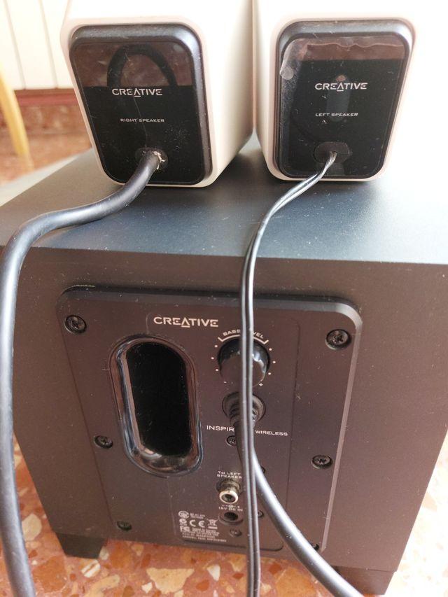 Altavoces PC 2.1 Creative Wireless