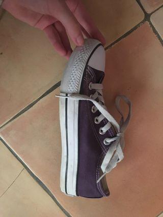 Zapatillas tipo Converse marca Andy-Z