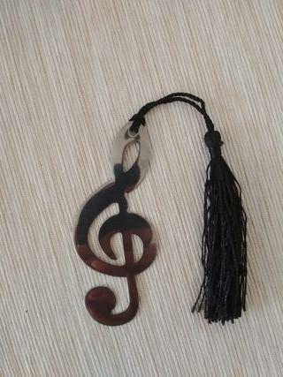Marcapáginas musical