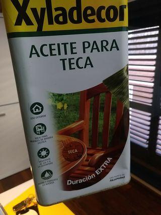 oli per a teca 5litres / Aceite para teca 5l