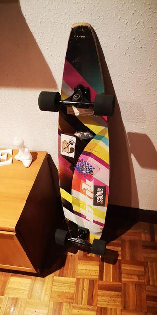 Patineta Longboard Surfskate carving Nixon