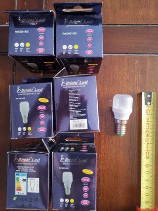 Pack 6 bombilla LED tipo pebetero E14 NUEVA
