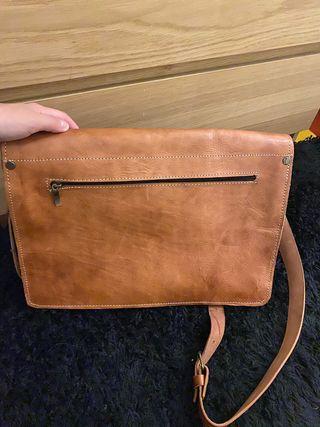 Cartera/ maletín piel