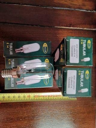 Pack 5 bombilla tubular 40w NUEVA