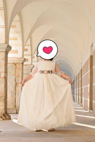 vestido de comunión Rafaello