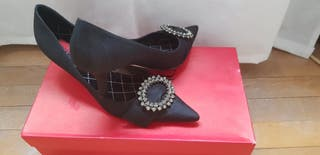 Zapatos fiesta Carolina Herrera
