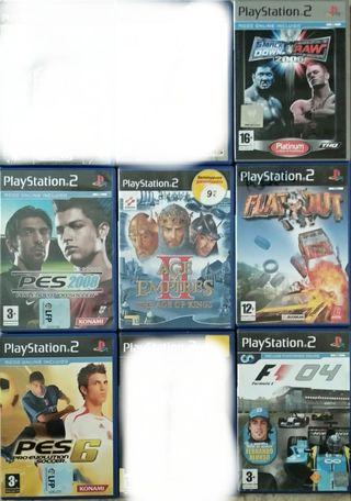 6 juegos de PlayStation 2