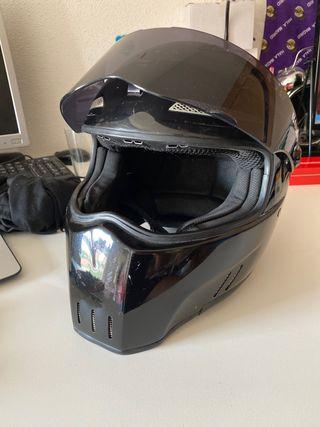 Casco moto Bandit modelo alien II talla M 58
