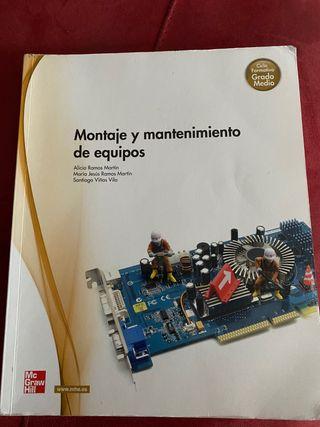 Libro Montaje y mantenimiento de equipos