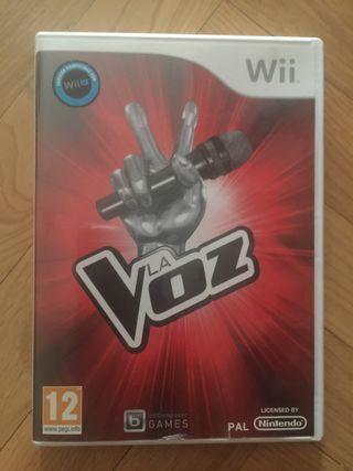 Juego La Voz Wii