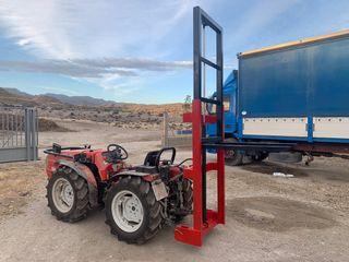 Mástil elevador tractor