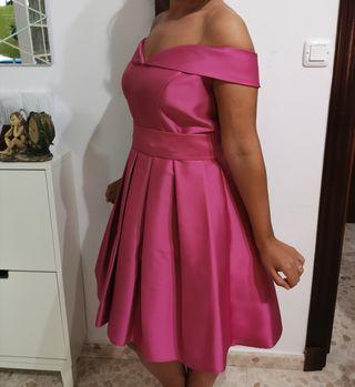 Vestido buganvilla para boda