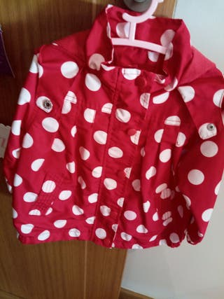 chaqueta entretiempo bebé niña talla 24-36 meses
