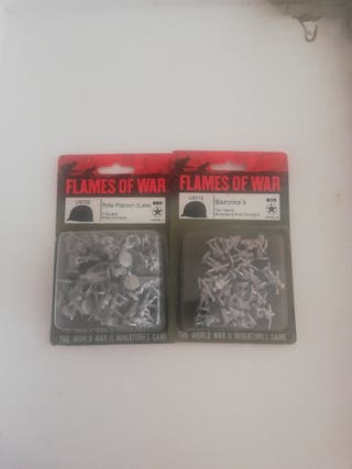 flames of war, 2 blisters USA