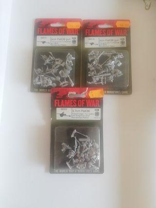 flames of war, pack de 3 blister AT