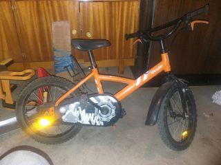 bicicleta de 18