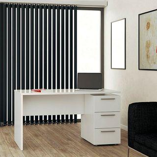 Mesa de despacho 3 cajones, mesa de estudio o ofic