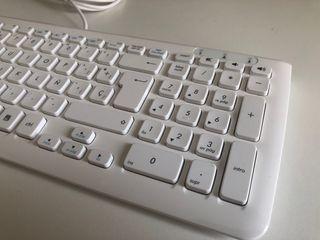Teclado Asus USB Blanco - extradegado